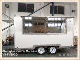 Ys-Fv390d de Multifunctionele Witte Voertuigen van de Catering voor de Aanhangwagen van de Zeevruchten van de Verkoop voor Verkoop