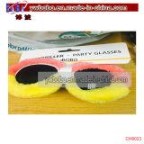 Novedad de las gafas de sol de la fiesta de Navidad de Navidad de los vidrios de la alineada de lujo del partido (CH8017)