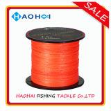 PET Fischerei-Gerät-Leuchtstofffarben-super starke Fischerei-Zeile 100%