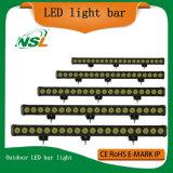 Guide optique DEL d'inondation des Crees DEL de la lumière 200W d'éclairage LED la plus lumineuse de barre de vente en gros d'éclairage LED de la rangée simple de barre