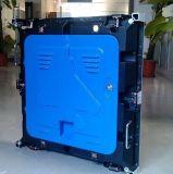 Gabinete de alumínio de fundição cheio interno do painel 640*640mm da tela do gabinete de indicador do diodo emissor de luz da cor SMD P5 do RGB
