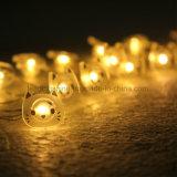 美しい猫LED銅の妖精ストリングワイヤー電池式の小さく暖かく白いきらめきライト