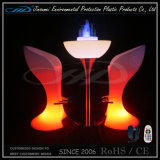 LED Furniture Bar Table Bar Chairs mit Factory Bottom Price