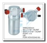 Acumulador de aluminio modificado para requisitos particulares para el acondicionador de aire auto 89*230
