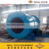 Impianto di lavaggio rotativo per la lavatrice dell'argilla