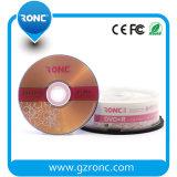media em branco de 16X DVD-R com logotipo livre
