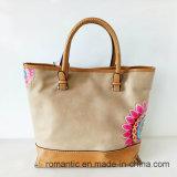 Мешок сумок повелительницы PU Pringting поставщика Китая установил внутренность (NMDK-041814)