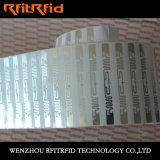 Vollständiger Aluminiumaufkleber des radierungs-Toluol-Widerstand-RFID
