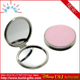 Regali del metallo in specchio compatto cosmetico