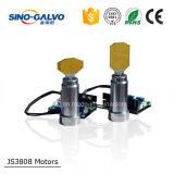 Do custo varredor elevado Js3808 do Galvo eficientemente para o laser largo Makring da largura