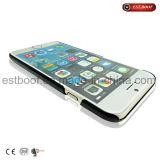 Caisse en cuir de téléphone d'unité centrale pour l'iPhone
