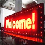 Einzelnes Farbe P10 BAD rote LED Bildschirm-Baugruppen-Text-Bildschirmanzeige
