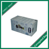 Белой коробка цвета напечатанная таможней Corrugated с вставкой