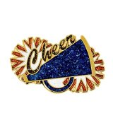 Insigne fait sur commande de Pin de Cheerleading pour la promotion de sport