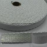 Fita adesiva da fibra de vidro protetora de alta temperatura à prova de fogo da isolação térmica