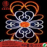 Mehrfarben2d Motiv-Straßen-Licht der Blumen-LED für im Freiendekoration