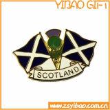 Ha annunciato il Pin del risvolto del distintivo dello smalto del metallo, Pin di metallo del regalo del ricordo della moneta (YB-HD-18)