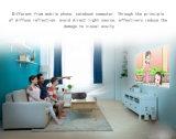 貧乏人のためのマルチメディア機能LCDプロジェクター携帯用LEDプロジェクターホームシアター