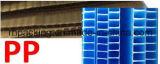peso ligero PP Corflute Correx Coroplast de 600mm*600m m 1200mm*2400m m para la señalización