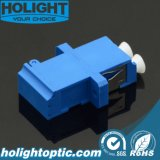 플랜지를 가진 LC 이중 Sm 파란 Shuter 접합기에 LC