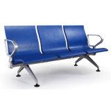 Cadeira do aeroporto, cadeira de espera, cadeira de espera da espuma do plutônio