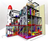 Beifall-Unterhaltungs-Weltraum-themenorientierte Kind-Innenspielplatz