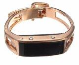 Monitoração Wearable inteligente esperta do sono do podómetro do roubo do telefone do relógio de Bluetooth dos homens e das mulheres do bracelete D8
