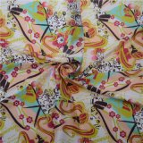 Tessuto di seta di seta di stampaggio di tessuti di alta qualità 100% Digital (TLD-0065)