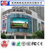 El alto brillo RGB P10 de la pantalla al aire libre impermeabiliza la publicidad de la visualización de LED