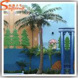 Palma artificiale della noce di cocco degli alberi di plastica esterni della decorazione