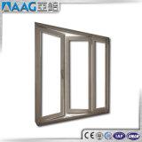 Aluminiumflügelfenster Windows und Tür mit örtlich festgelegtem Glas