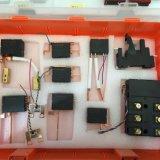 Relais élevé de chargement avec du matériau de disposition de contact Agsno2