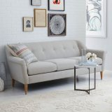 Modernes japanische Art-Wohnzimmer-einfaches Gewebe-Sofa