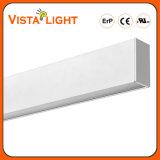 Luz de techo linear de aluminio de la protuberancia 5630 SMD LED para los hoteles