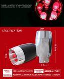 Tubo de escape al por mayor del Manufactory con la luz del LED
