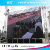 HD P8 SMD 3535 광고를 위한 옥외 발광 다이오드 표시 널, 외부 LED 스크린