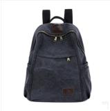 Bolso del recorrido del bolso del estudiante del morral del ocio de la lona del bolso de hombro de los hombres