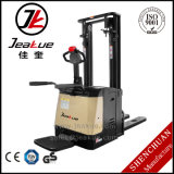 Grande Promoção 1.4t-1.6t Stand on Type Full Electric Stacker