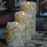 La boda perfumada de la vela del nuevo diseño favorece el fabricante de China