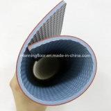 De binnen Donkere Grijze Vloer van de Sporten van de Gymnastiek Vinyl voor Patroon 4.5mm van de Gem