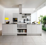 De Franse Keuken Cabinetry van de Douane van pvc van de Stijl Witte