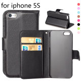 iPhone 5 аргументы за Flip бумажника PU кожаный/5s/5c
