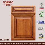 O gabinete de cozinha fronteia as portas do armário da recolocação (GSP5-022)