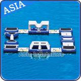 フルセットの水の浮遊ゲーム/水トランポリン/空気石鹸の塊