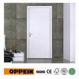 Puerta interior blanca del MDF de la venta al por mayor del fabricante de Guangzhou con el diseño simple P609