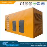 Молчком сила Genset Electeic производя комплекты установленного тепловозного генератора звукоизоляционные