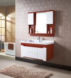 Gabinete de banheiro cerâmico fixado na parede de Furinture do banheiro rural do estilo
