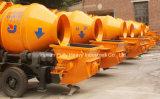 Hydraulische Moble Schlussteil Concret Pumpe mit Trommel-Mischer (JBT40)