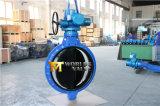 Польностью резиновый выровнянная одиночная ая клапан-бабочка с электрическим приводом (D971X-10/16)