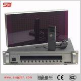 Console infravermelho do intérprete para o sistema simultâneo Singden da interpretação do IR